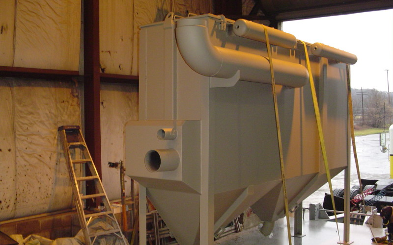 Advanced Recycling - Dust Collecting Bag House