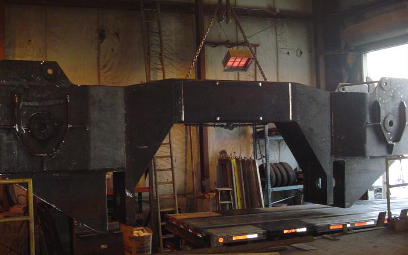 Morgan Engineering - Ladle Spreader Beam