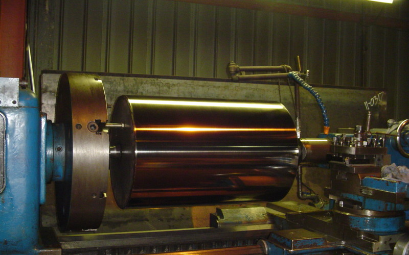 Rubber Industry - Stainless Steel Cooling Drum