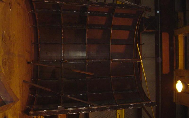 Universal Refractories - Ladle Mandrel Inside